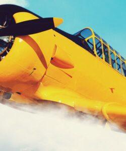 flight deck airplane