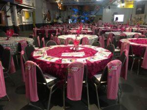 LEX event decoration
