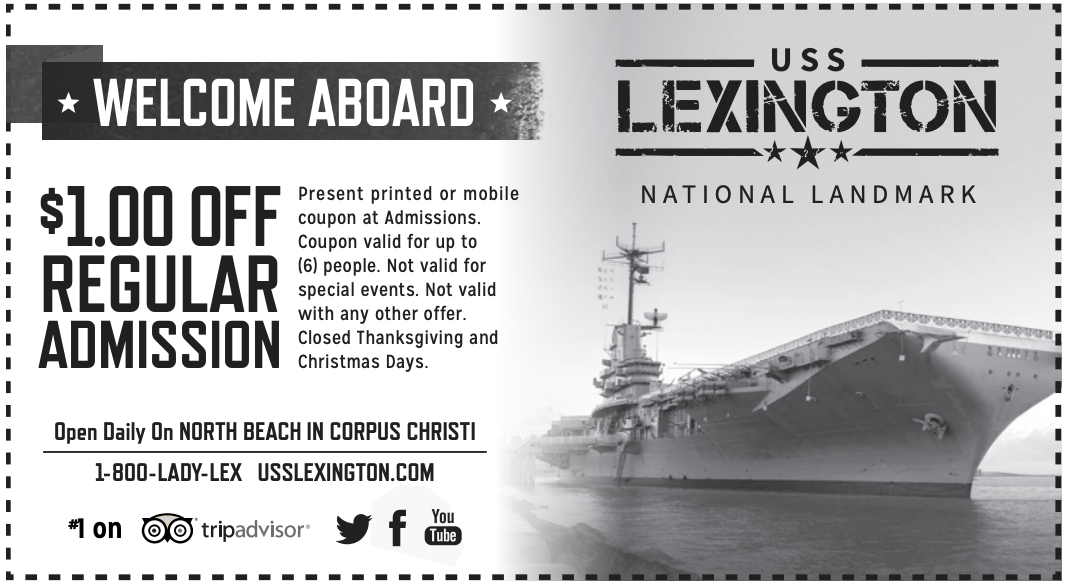 LEX Dollar Off Coupon