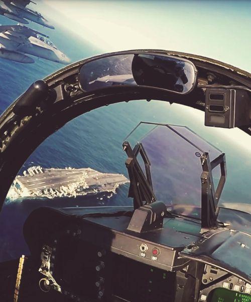 LEX flight simulator – USS LEXINGTON